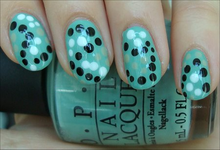 Seeing Spots Nail Art Tutorial