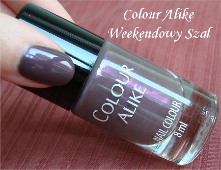 Barbara Colour Alike Weekendowy Szal Review & Swatch