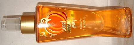 Bath & Body Works Fragrance Mist Reviews Sweet Cinnamon Pumpkin Review & Pictures