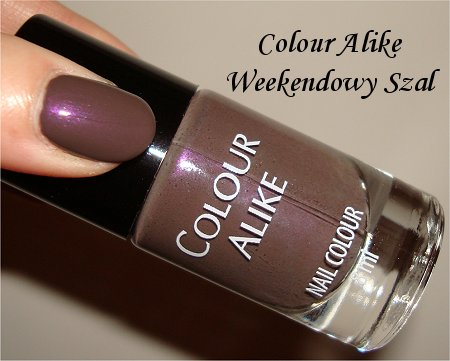 Chanel Paradoxal Dupe Colour Alike Weekendowy Szal Revlon Perplex Dupe