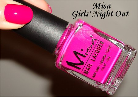 Girls Night Out Misa Swatches